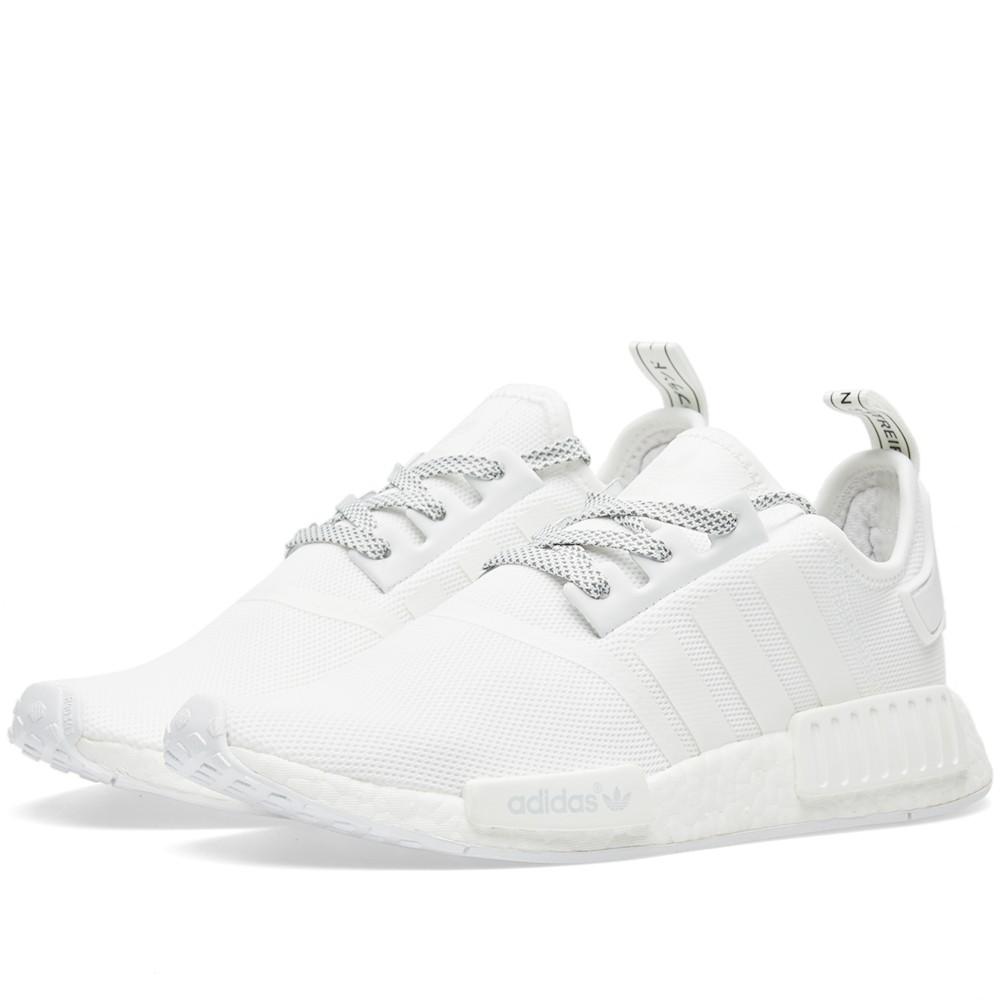 Adidas NMD R1, clean white