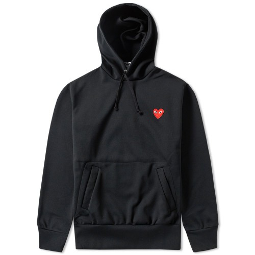 Comme Des Garcon Play All black hoody