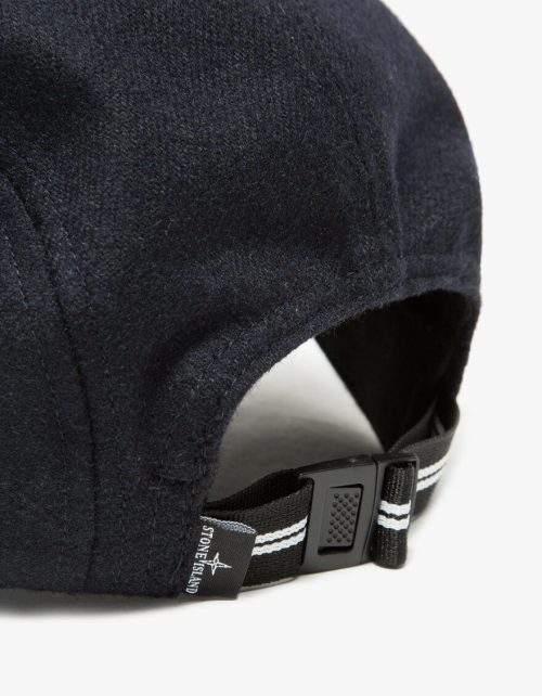 Stone Island cap_navy_wool_back