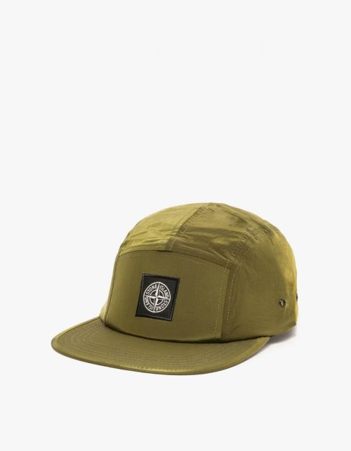 Stone Island cap_oliven_green_front