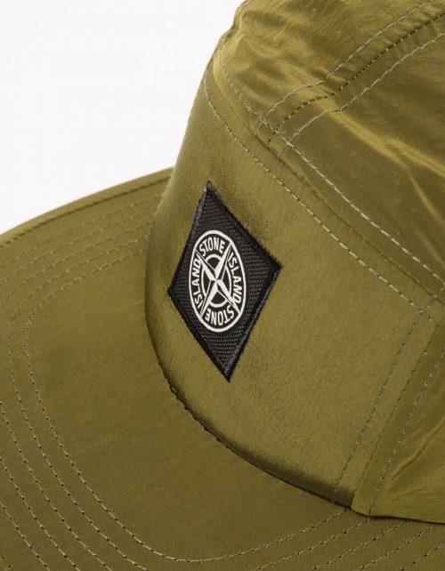 Stone Island cap_oliven_green_logo