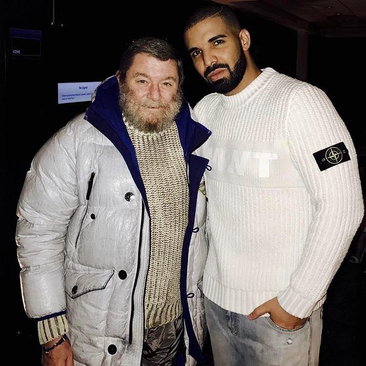 Drake and Stone Island creator