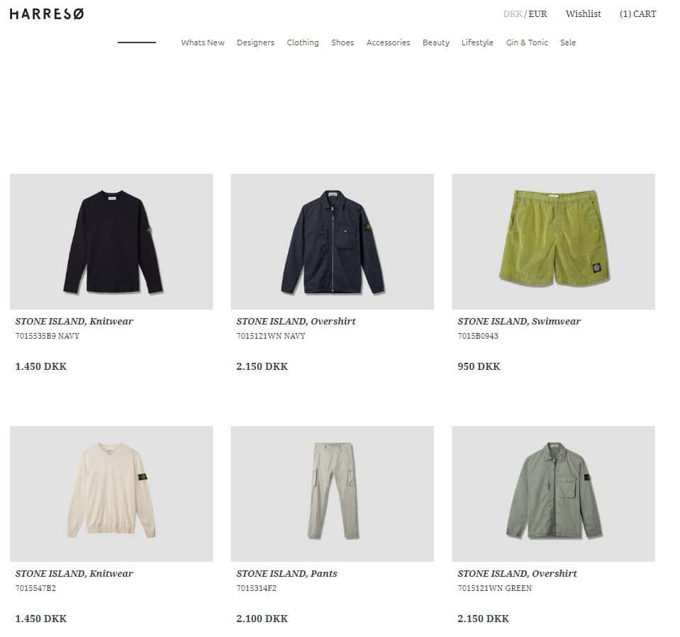 Harresø - Stone Island Webshop