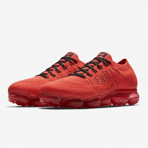 clot nike air vapormax fire red