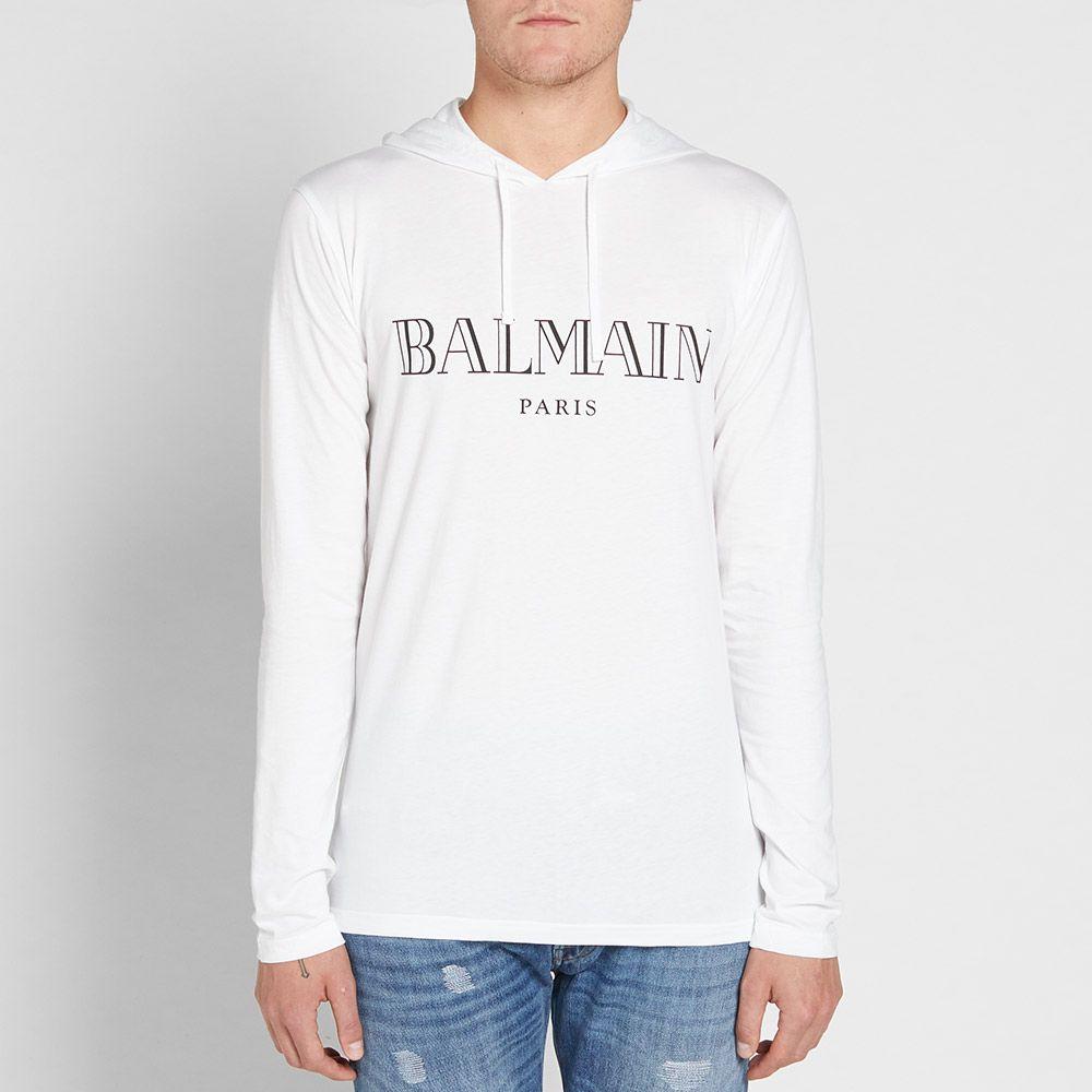 Balmain aw 17 langærmet trøje