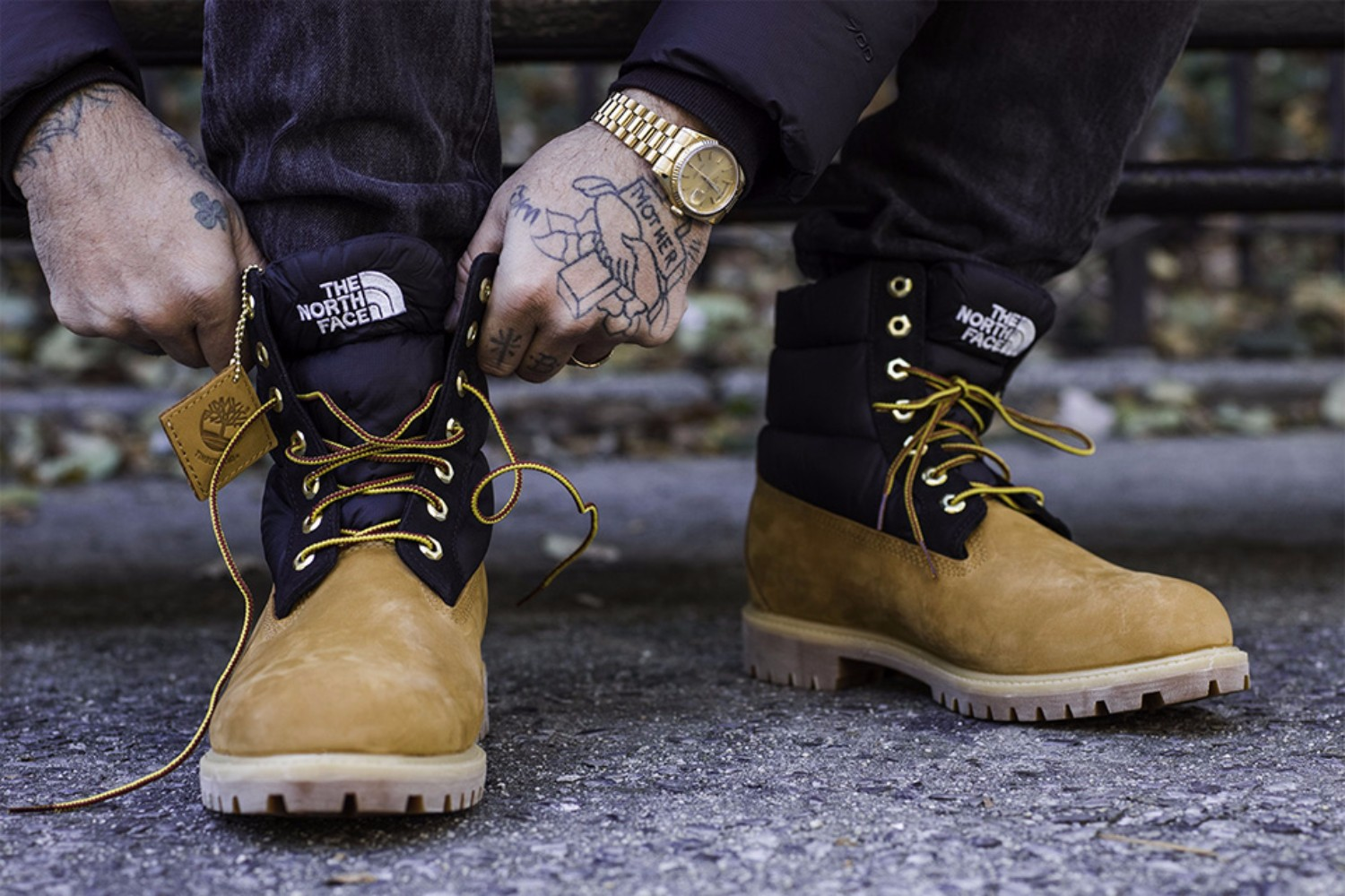 Timberland x The North Face