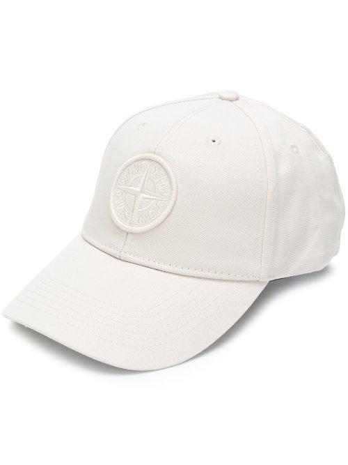 Stone island Cap hvid hvid