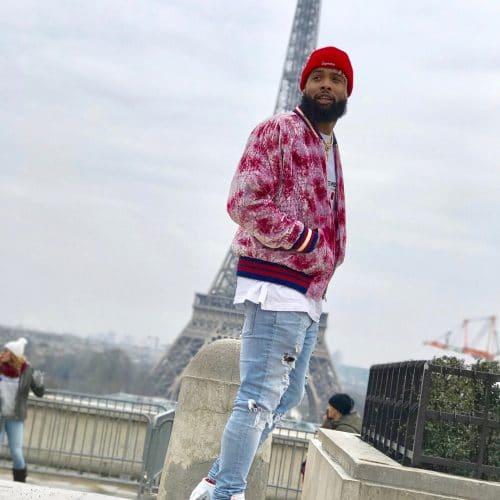Odell Beckham JR - Spottet Outfits - Paris Fashion Week (1)