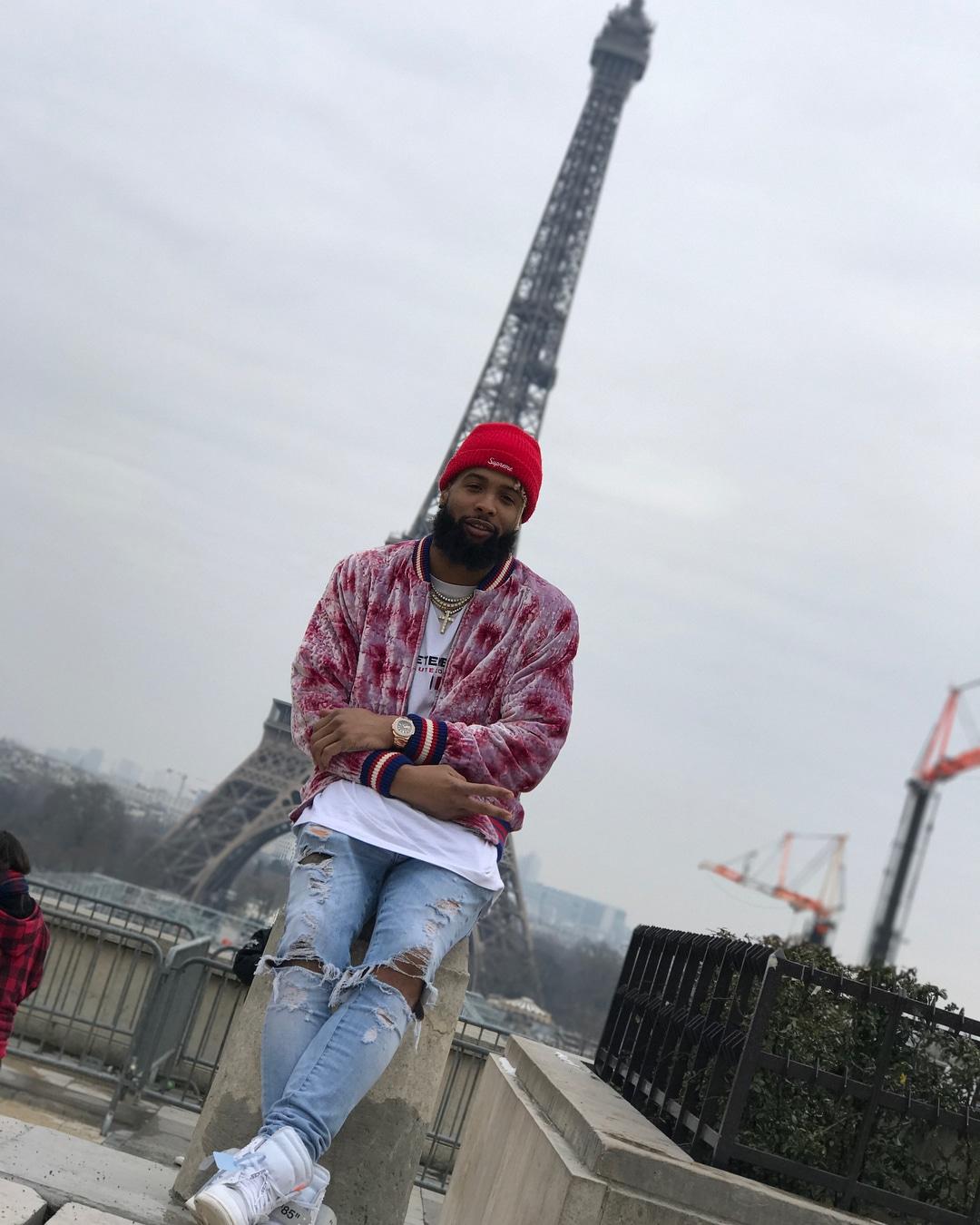 Odell Beckham JR - Spottet Outfits - Paris Fashion Week (4)