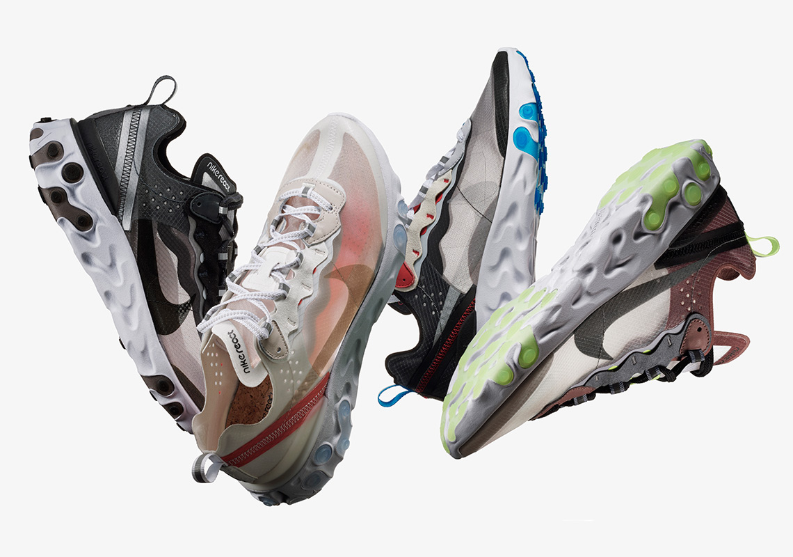 NIKE REACT ELEMENT 87 - Theswish.dk