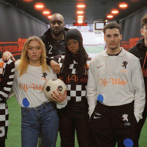 Offwhite NIke soccer
