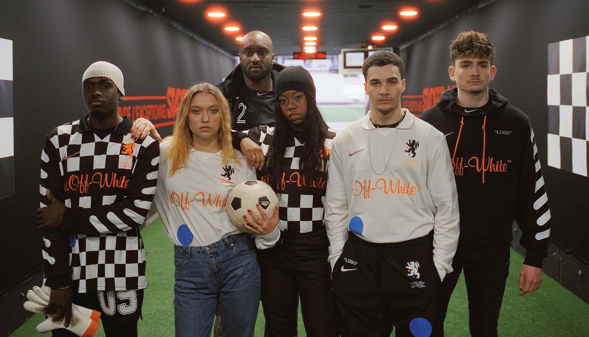 """Nike x Off-White """"Football, Mon Amour"""""""