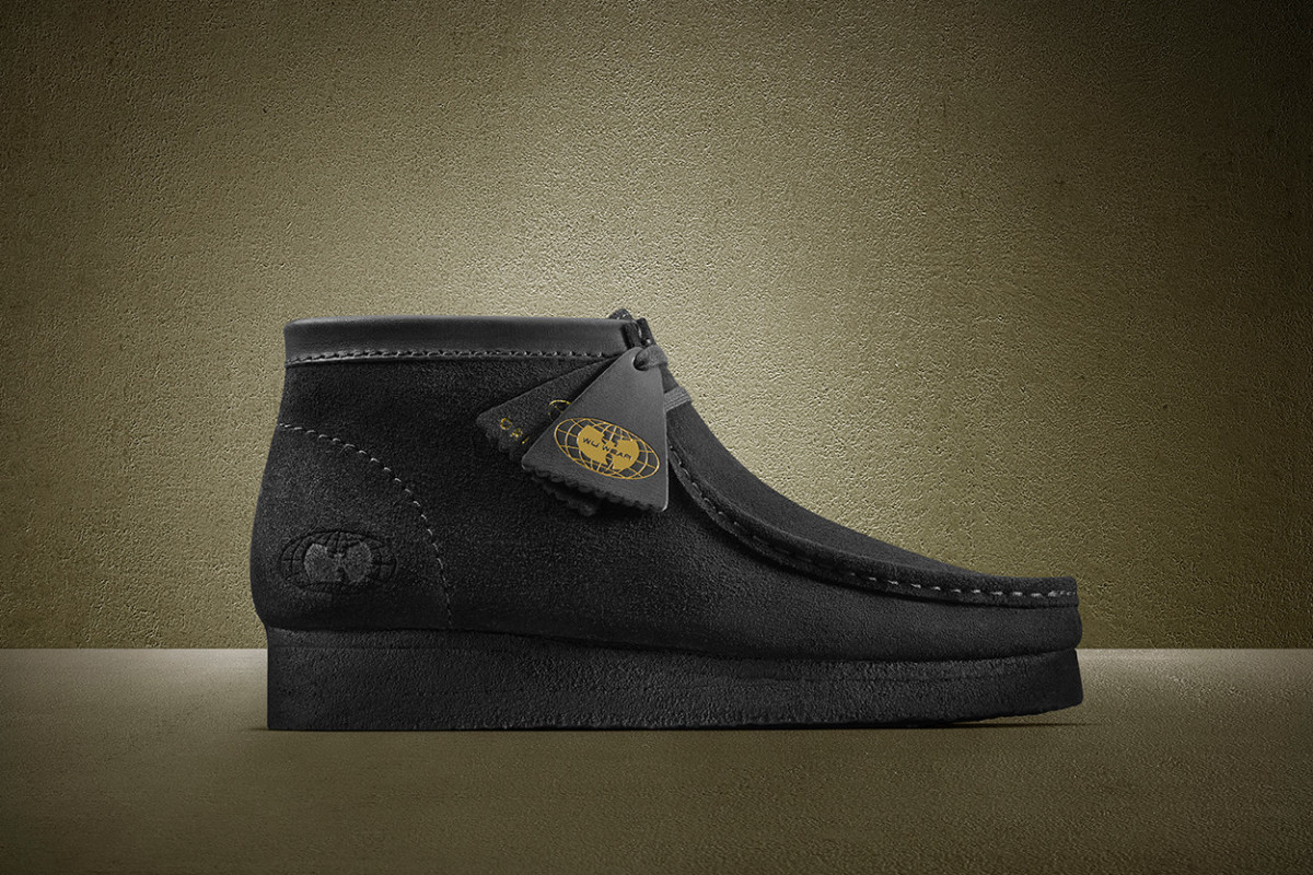 Clarks Wallabee X WU-Tang Clan's debut album 25th Anniversary